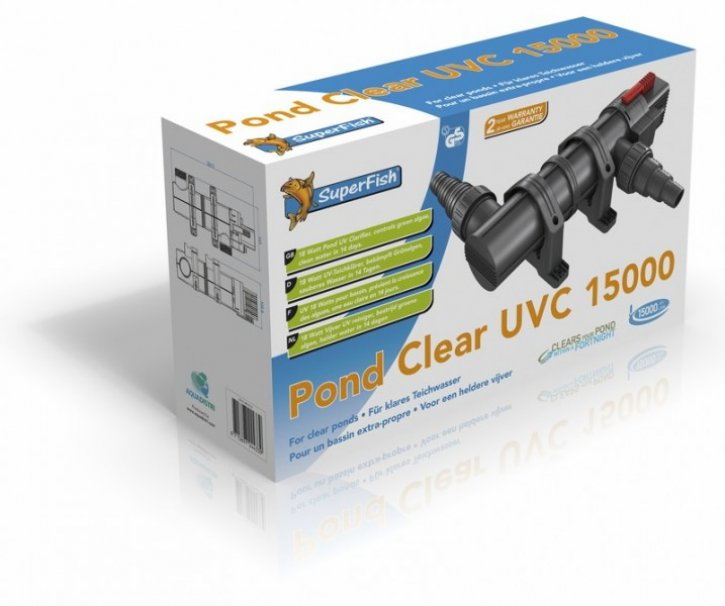 SuperFish Pondclear UVC 18W / 15.000 l