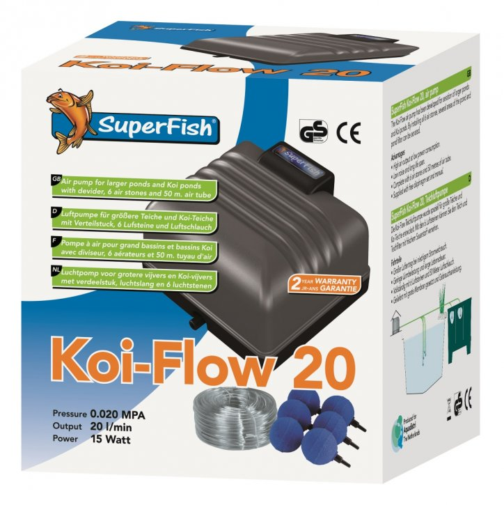 Superfish Koi Flow 20 Set