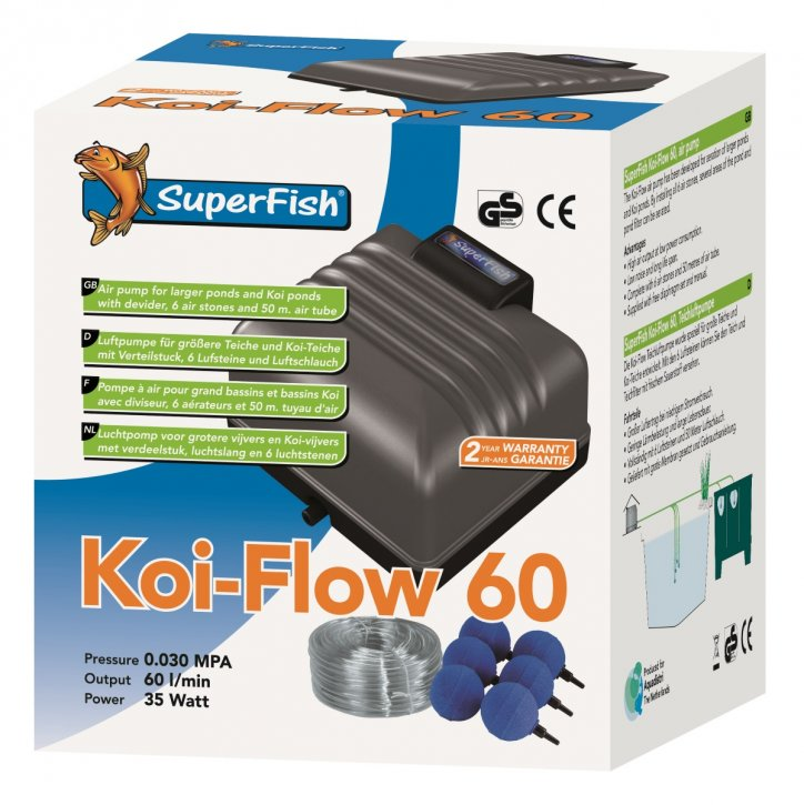Superfish Koi Flow 60 Set