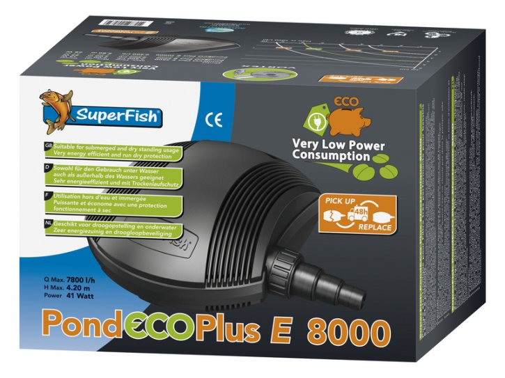 Pond Eco Plus E 8000