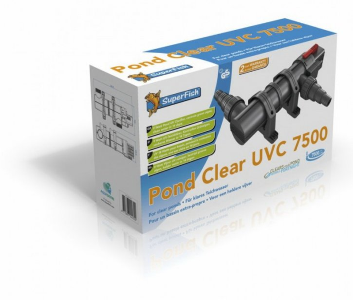 SuperFish Pondclear UVC 9W / 7.500 l