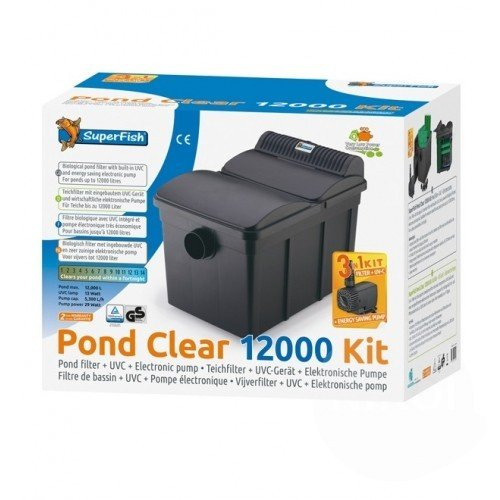 SuperFish Pond Clear Filter KIT 12000